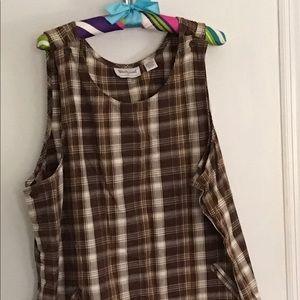 Plaid short dress